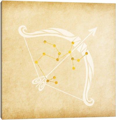 Independent Archer with Constellation Canvas Art Print