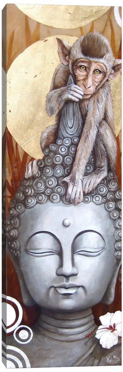 Le Petit Bouddha (The Little Buddha) Canvas Print #SOP10