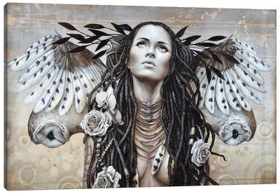 Plumes de Nuage (Cloud Of Feathers) Canvas Art Print