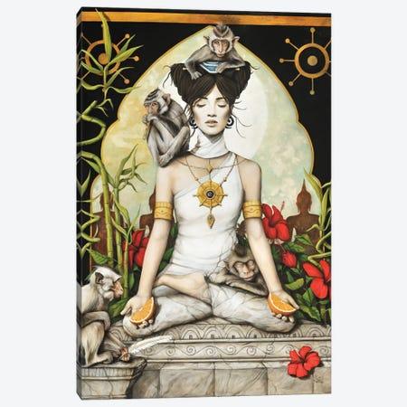 Serenite (Serenity) Canvas Print #SOP25} by Sophie Wilkins Canvas Artwork