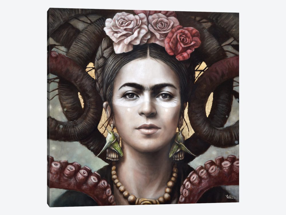 Hommage a Frida (A Tribute To Frida) III by Sophie Wilkins 1-piece Art Print