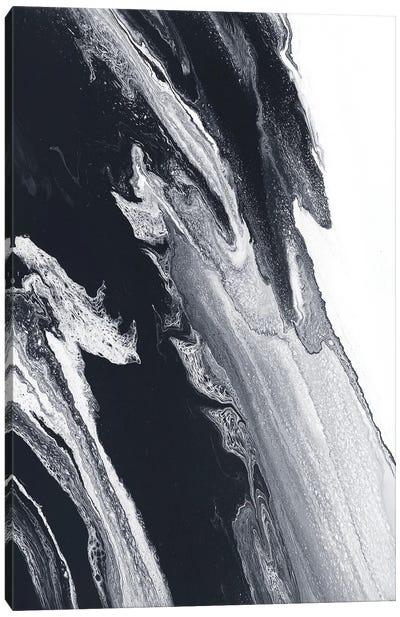 Black And White Storm Canvas Art Print