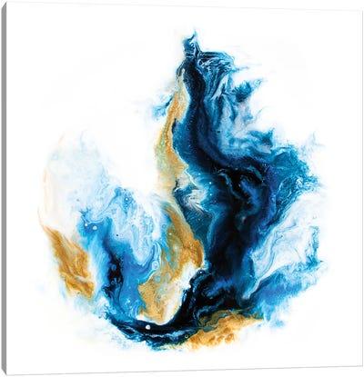 Crashing Sea Canvas Art Print