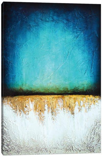 Frozen Reflection Canvas Art Print