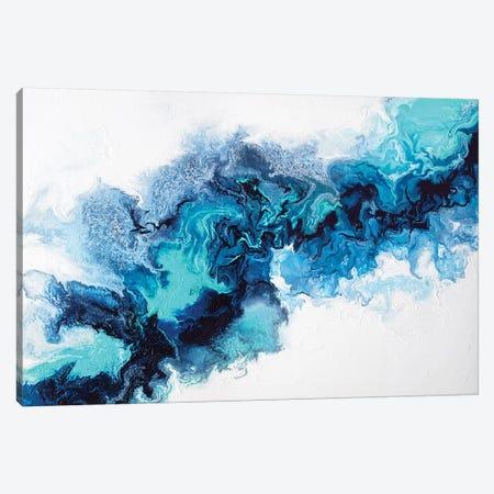 Water Elemental Canvas Print #SPB46} by Spellbound Fine Art Art Print