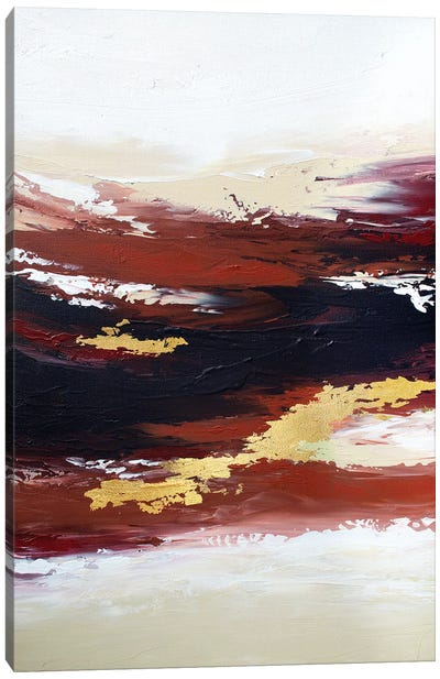 Burnt Sunset Canvas Art Print