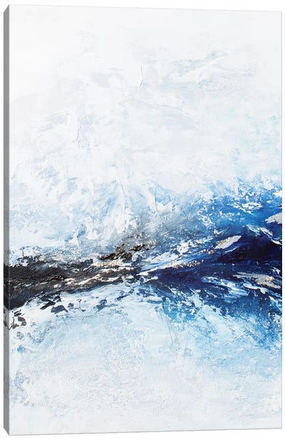 Frozen Ocean Canvas Art Print