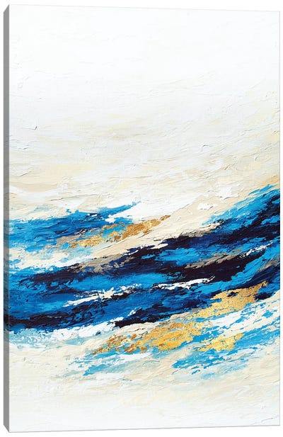 Serenity Wave Canvas Art Print
