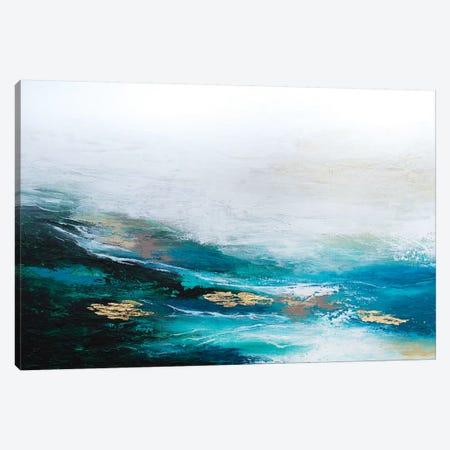 Verdant Wave Canvas Print #SPB63} by Spellbound Fine Art Canvas Artwork