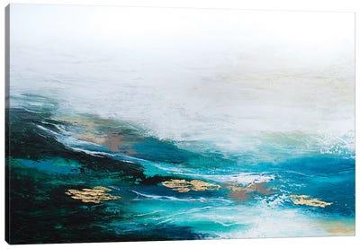 Verdant Wave Canvas Art Print