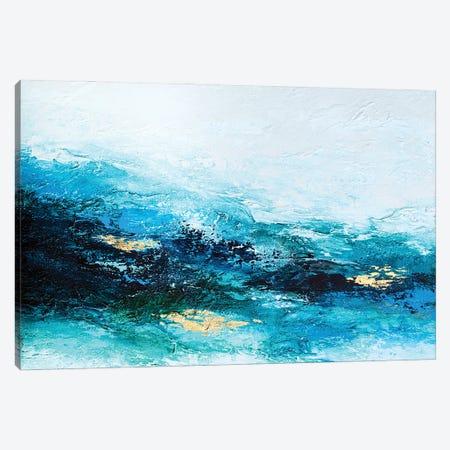 Flourishing Wave Canvas Print #SPB65} by Spellbound Fine Art Art Print