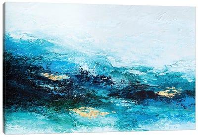 Flourishing Wave Canvas Art Print