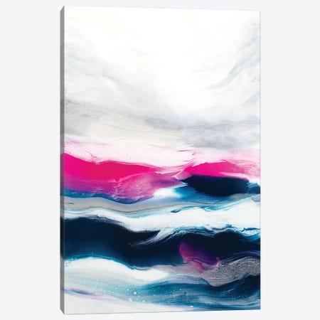 Fuchsia Wave Part 1 Canvas Print #SPB66} by Spellbound Fine Art Canvas Art Print