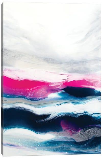 Fuchsia Wave Part 1 Canvas Art Print