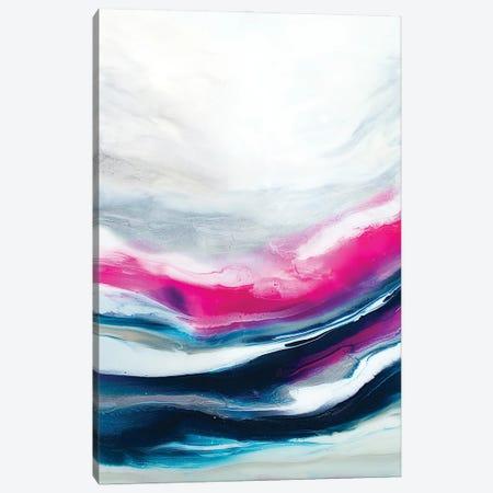 Fuchsia Wave Part 2 Canvas Print #SPB67} by Spellbound Fine Art Canvas Art Print