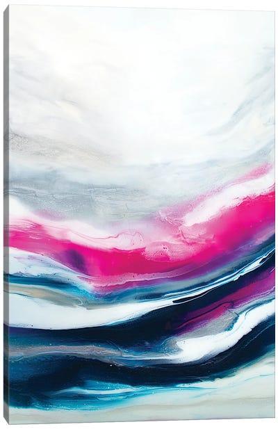 Fuchsia Wave Part 2 Canvas Art Print