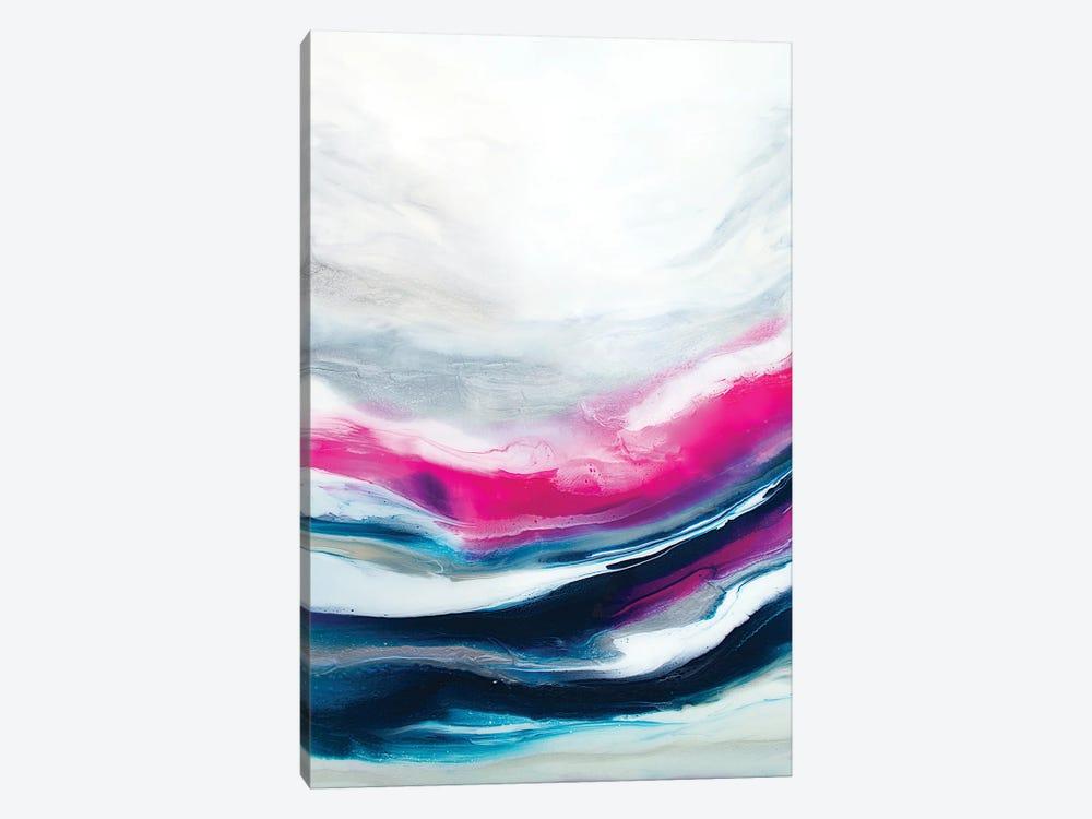 Fuchsia Wave Part 2 by Spellbound Fine Art 1-piece Canvas Wall Art