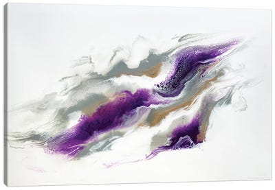 Grey And Violet Skies Canvas Art Print