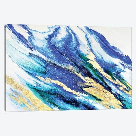Lapis And Emerald Canvas Print #SPB72} by Spellbound Fine Art Canvas Art Print
