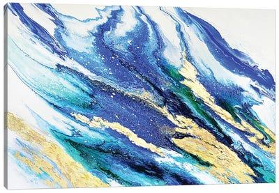 Lapis And Emerald Canvas Art Print