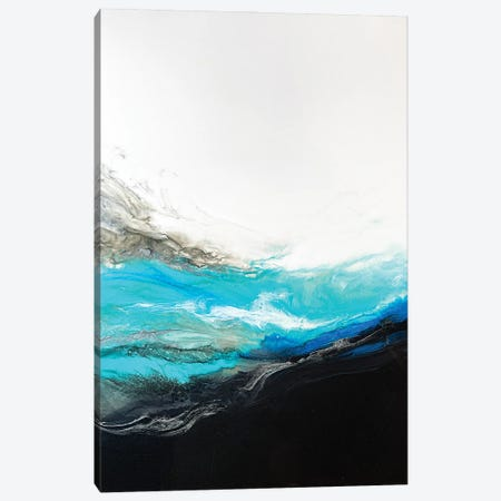 Resounding Wave Canvas Print #SPB77} by Spellbound Fine Art Canvas Artwork