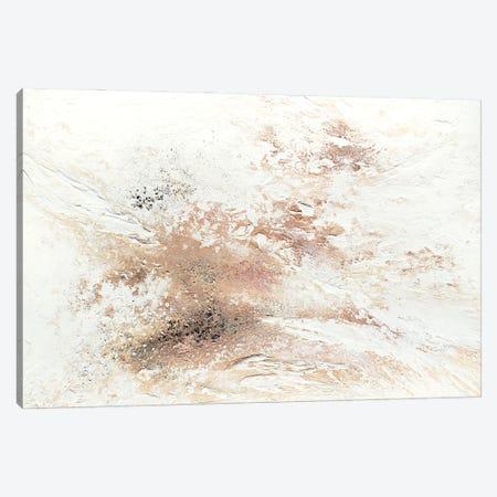 Rose Gold Snow Canvas Print #SPB78} by Spellbound Fine Art Canvas Print