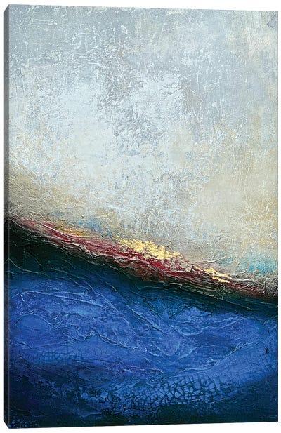 Slate Wave Canvas Art Print