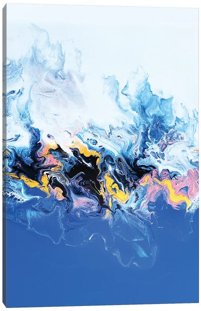 Periwinkle Rainbow Canvas Art Print