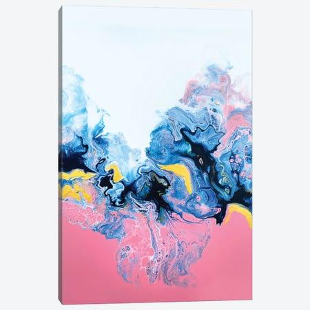 Rose Rainbow Canvas Print #SPB96} by Spellbound Fine Art Canvas Artwork