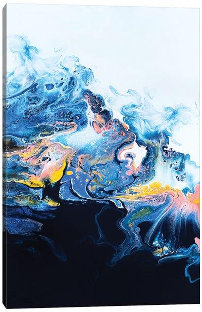 Starburst Wave Canvas Art Print