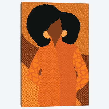 Shayla Canvas Print #SPC18} by Sagmoon Paper Co. Canvas Art