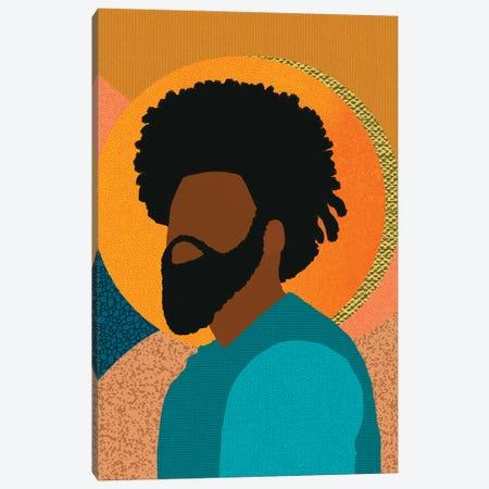 Confident Canvas Print #SPC19} by Sagmoon Paper Co. Canvas Artwork