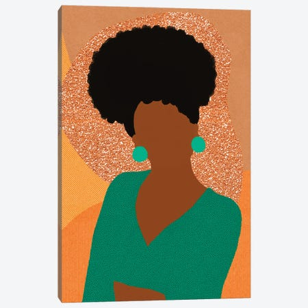 CoCo Canvas Print #SPC22} by Sagmoon Paper Co. Art Print