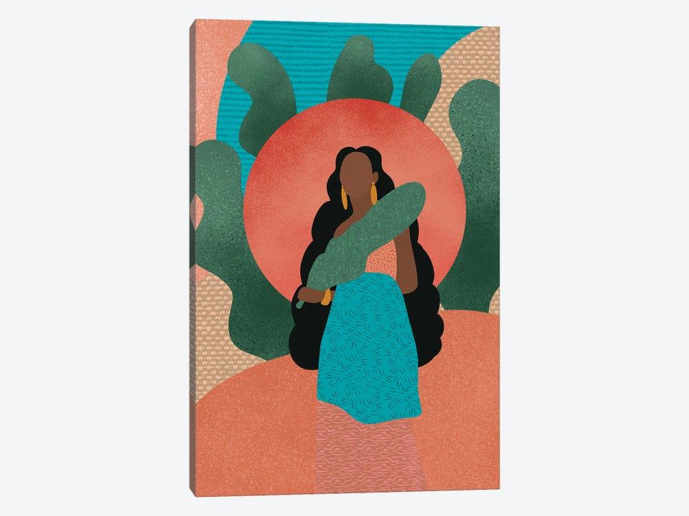 Black Woman in Nature by Sagmoon Paper Co. 1-piece Art Print