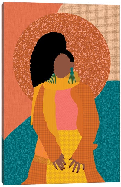 Fall Fashion Canvas Art Print