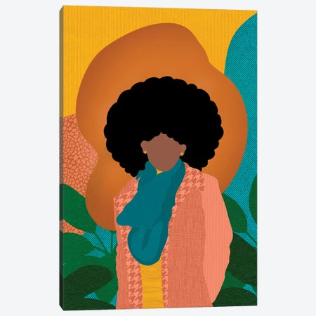 Fros in the Fall Canvas Print #SPC32} by Sagmoon Paper Co. Canvas Art