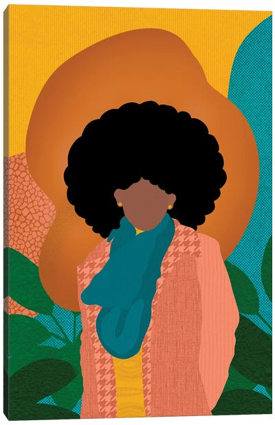 Fros in the Fall Canvas Art Print