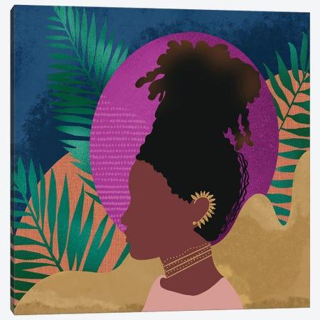 Little Sister Canvas Print #SPC37} by Sagmoon Paper Co. Art Print