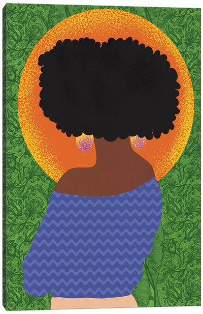Fros and Greenery Canvas Art Print
