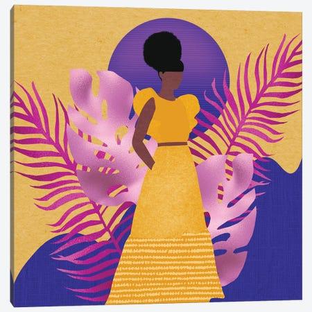 Yellow Rising Canvas Print #SPC3} by Sagmoon Paper Co. Canvas Print