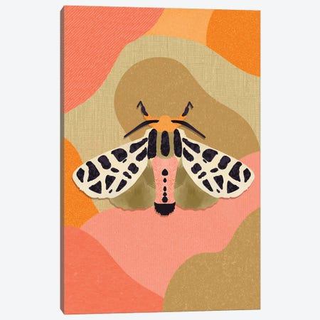Moth Canvas Print #SPC42} by Sagmoon Paper Co. Art Print