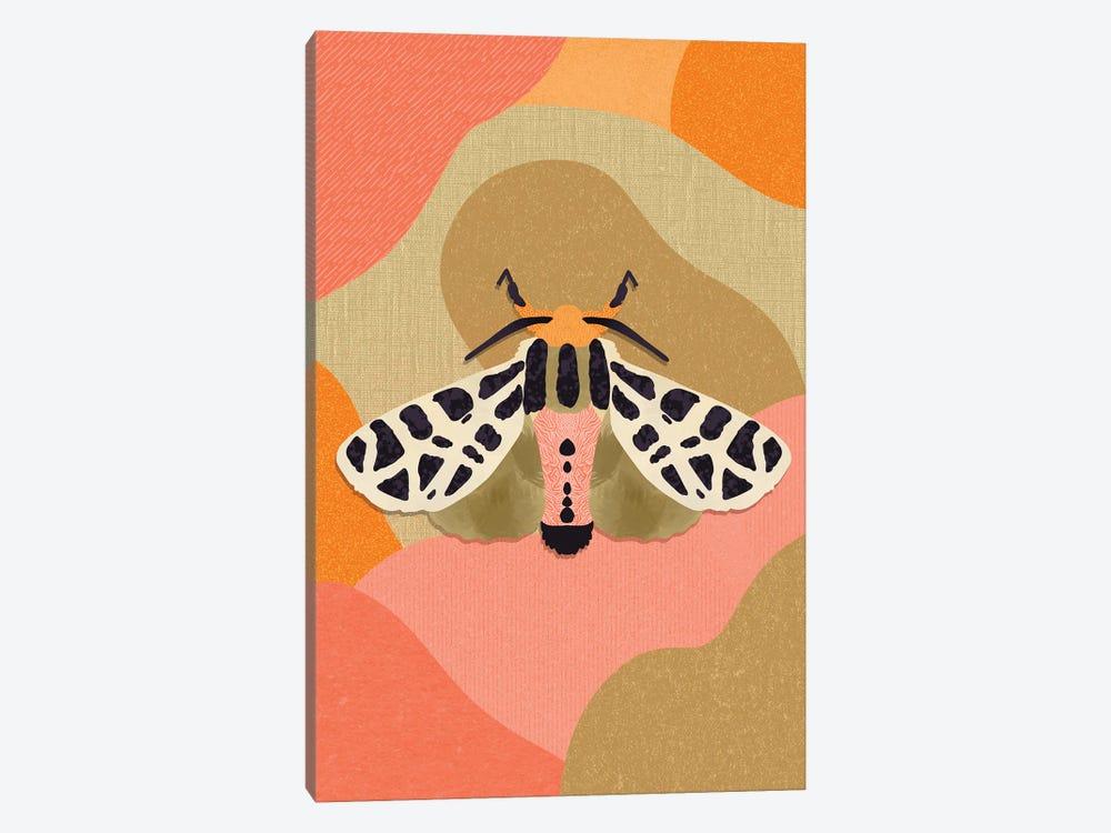 Moth by Sagmoon Paper Co. 1-piece Canvas Wall Art
