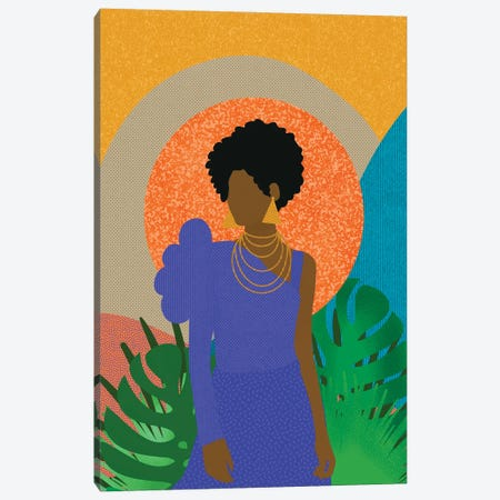 Simone Canvas Print #SPC45} by Sagmoon Paper Co. Canvas Artwork