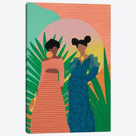 Sisterhood Canvas Print #SPC47} by Sagmoon Paper Co. Canvas Art