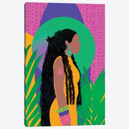 Loc'd in Love Canvas Print #SPC51} by Sagmoon Paper Co. Canvas Wall Art
