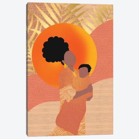 New Mom Canvas Print #SPC52} by Sagmoon Paper Co. Canvas Artwork