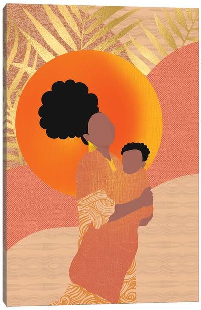 New Mom Canvas Art Print