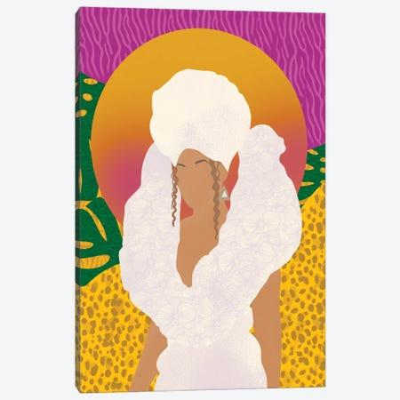 Beyoncé, Black Is King Canvas Print #SPC55} by Sagmoon Paper Co. Canvas Print