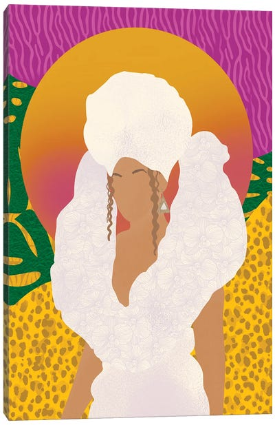 Beyoncé, Black Is King Canvas Art Print