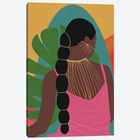 Reflection Canvas Print #SPC58} by Sagmoon Paper Co. Canvas Art